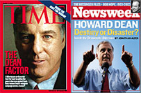 Media darling Howard Dean